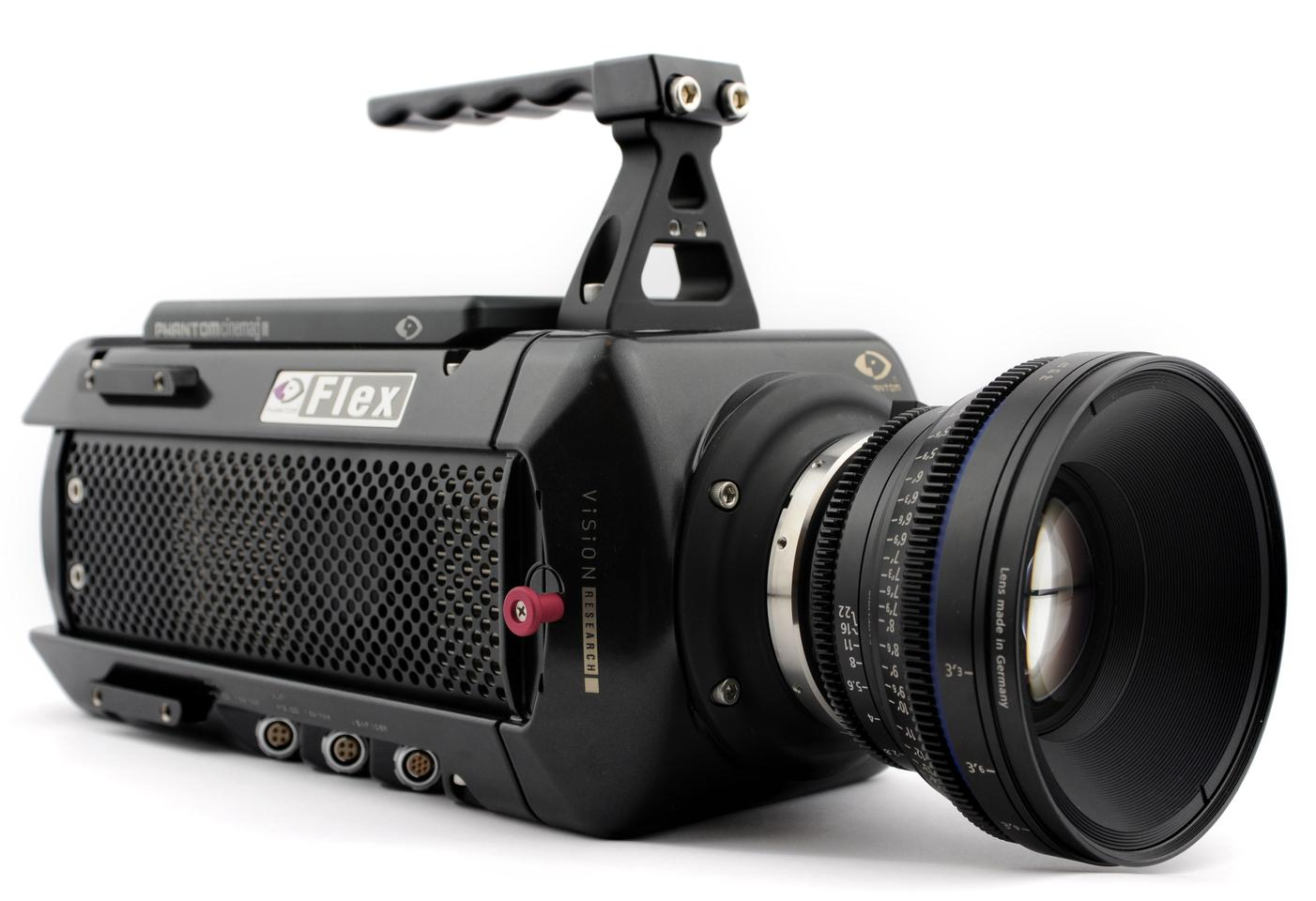 Vision Research's new Phantom Flex digital high-speed video camera