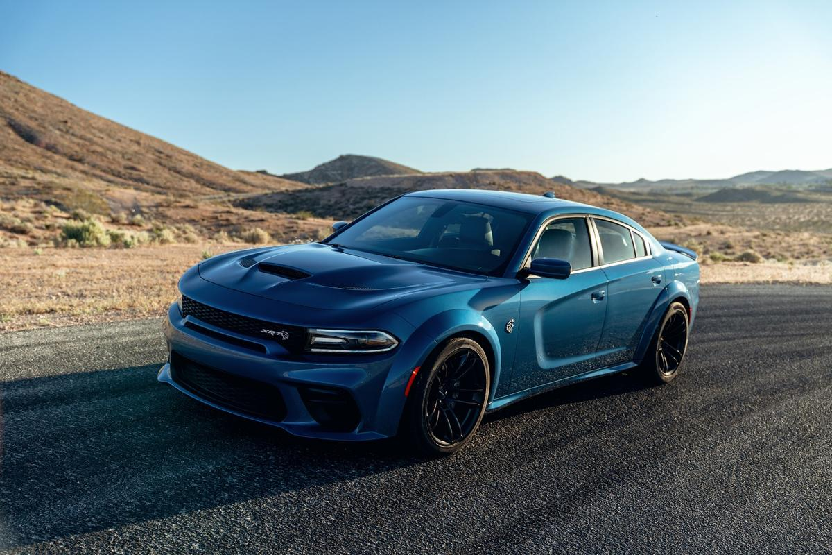 The 2020 Dodge Charger SRT Hellcat Widebody is a four-door, fire-breathing, intimidating muscle car for the whole family