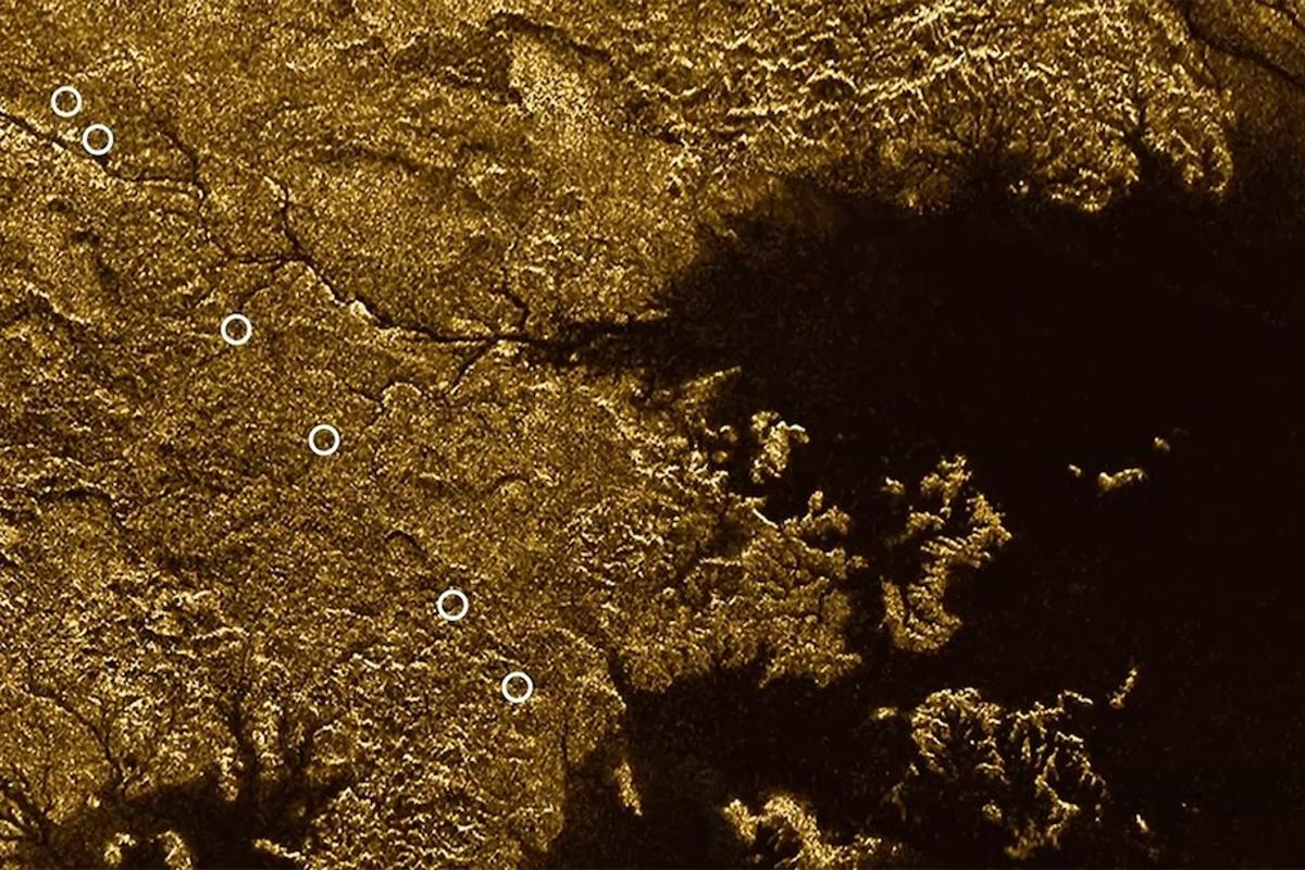 While the seas of the moonTitan areknown to be filled with liquid methane, a new study has confirmed that a network of deep channels also contains the liquid