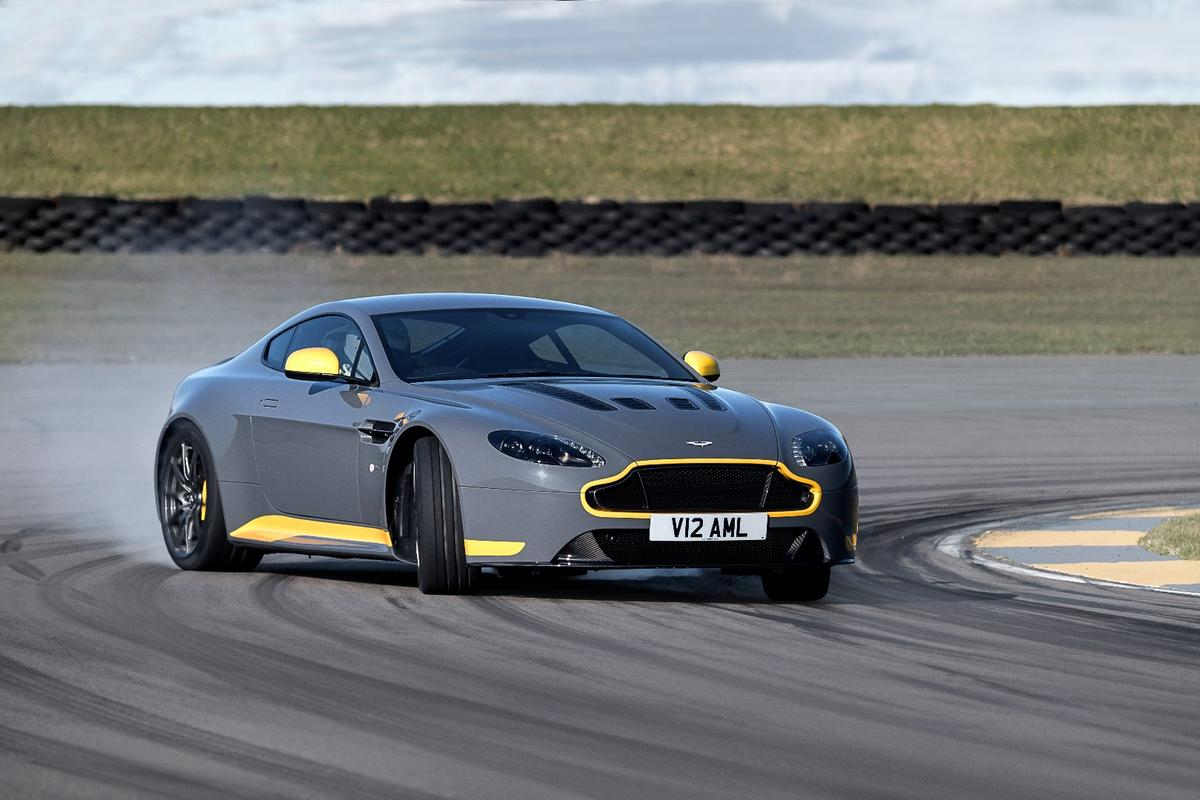 Aston Martin has catered to the purists with a manual V12 Vantage S
