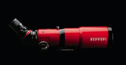Ferrari ZenithStar Racing Edition telescope