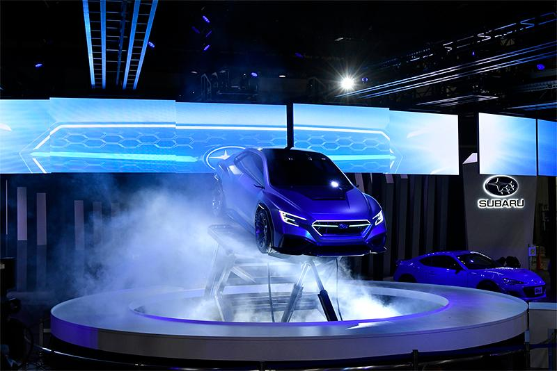 Subaru made a splash with the Viziv Performance Concept debut