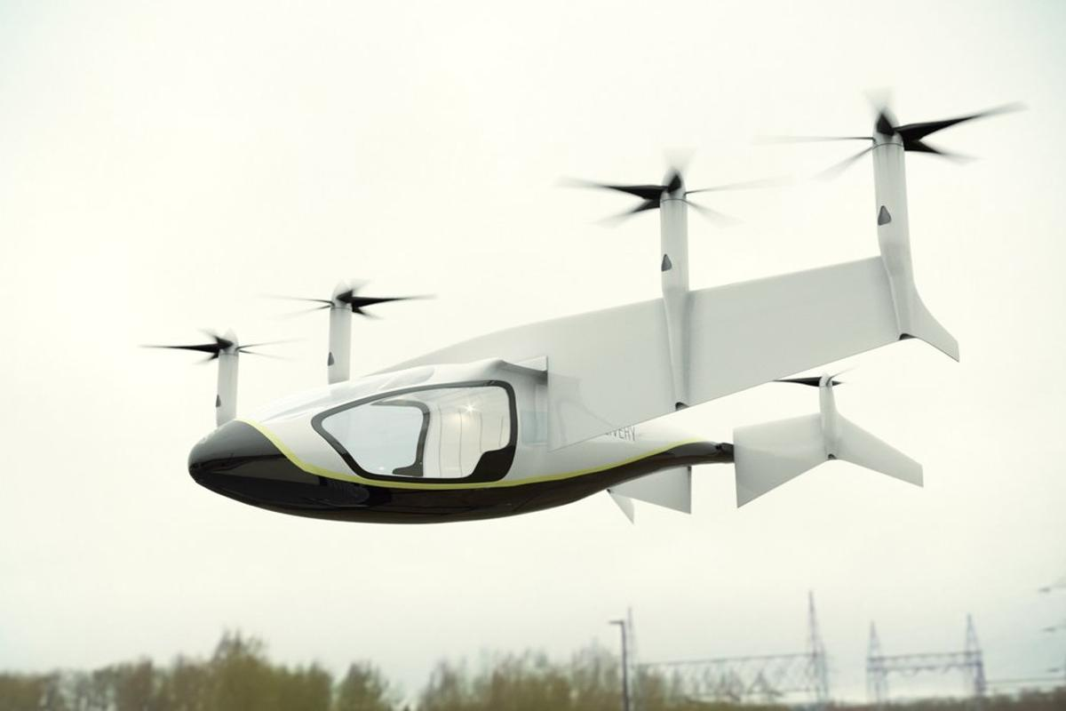 Rolls-Royce, famous for its aerospace engines, is getting on board with electric propulsion with this hybrid VTOL concept