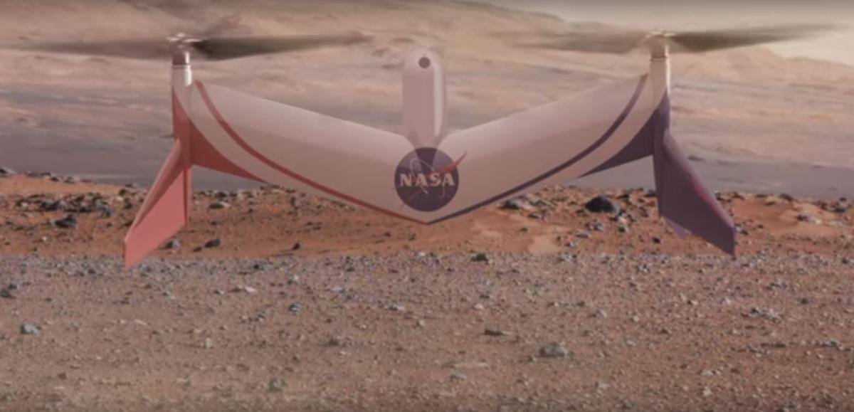 A drone under development at NASAwould be used to explore vast areas of Mars