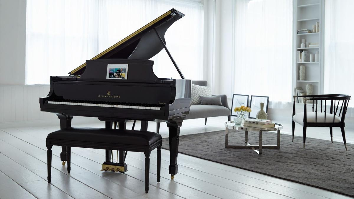 TheSpirio | r from Steinway & Sons is available as a Concert Grand Model D or a shorter Model B Grand