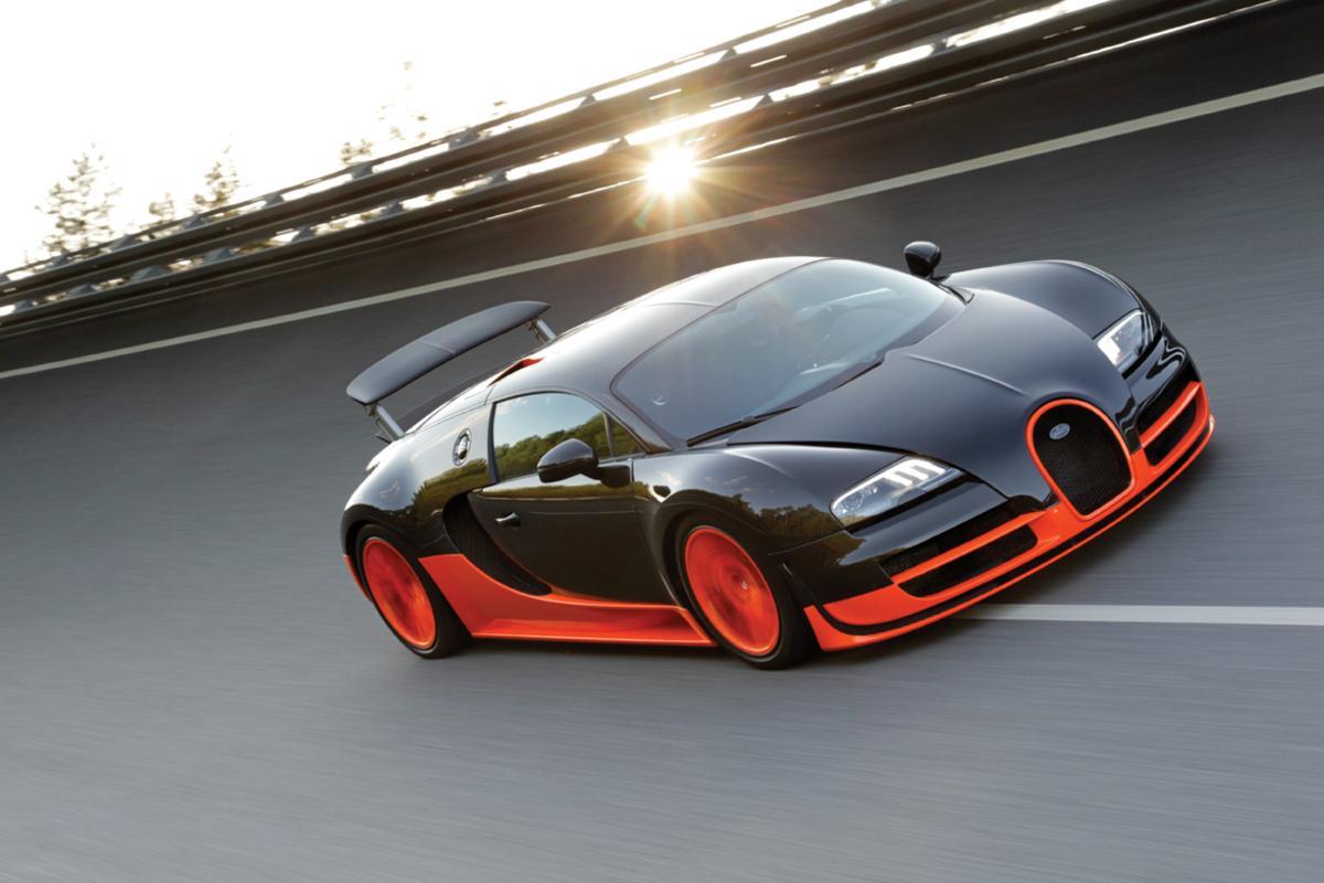 The Bugatti Veyron 16.4 Super Sport