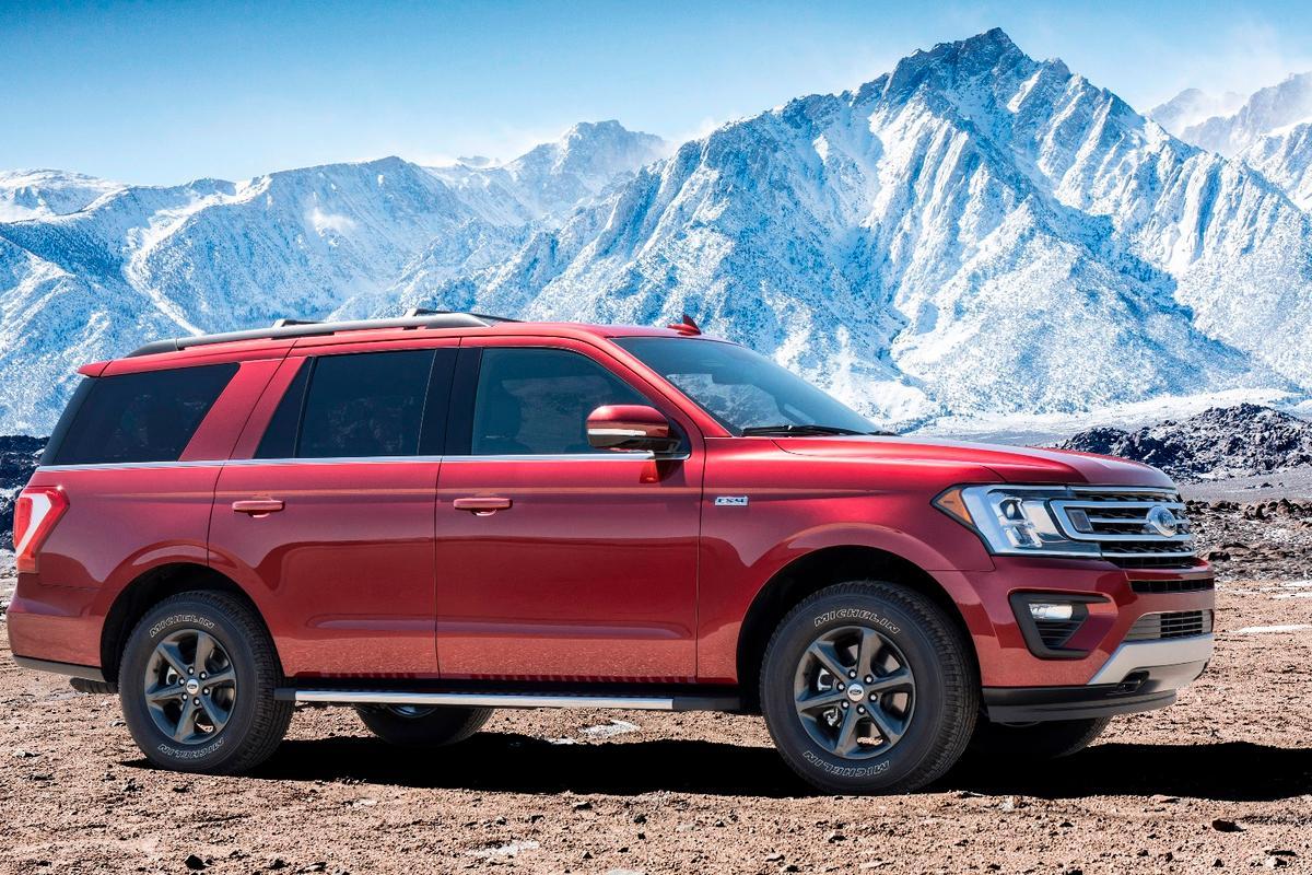 The new Ford Expedition FX4