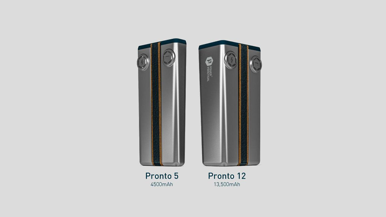 The Pronto promises to be able to get enough to juice to fully charge an iPhone 5 in five minutes