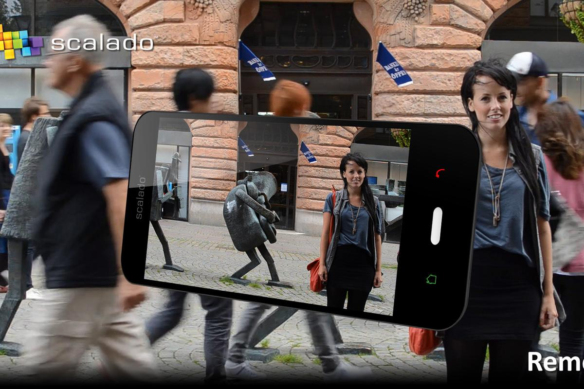 The Remove app is designed to remove bystanders from photos taken by mobile devices