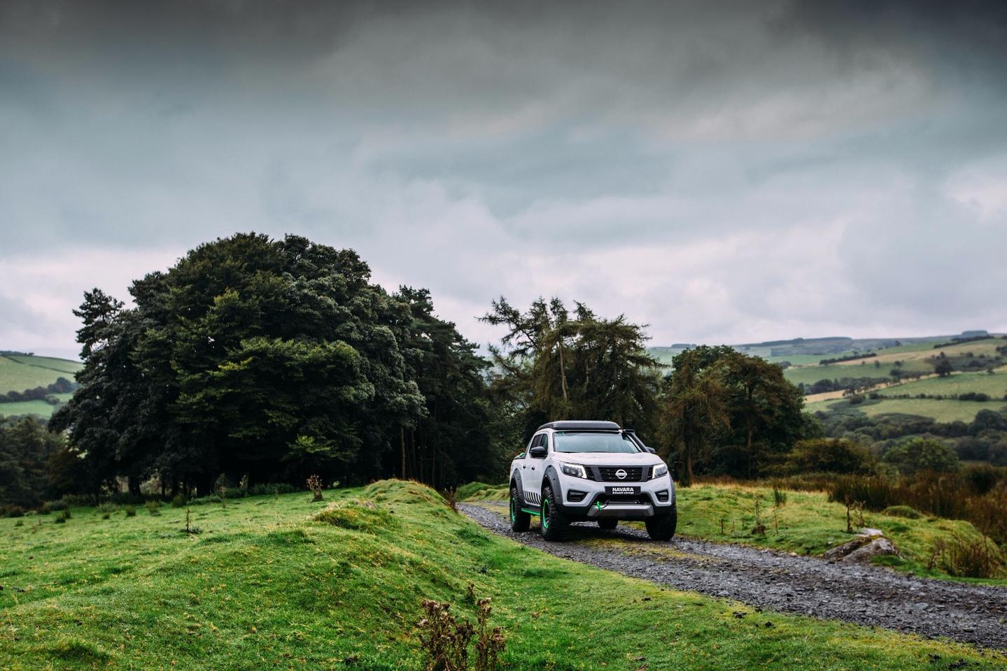 The Navara EnGuard Concept is designed with search and rescue in remote areas in mind