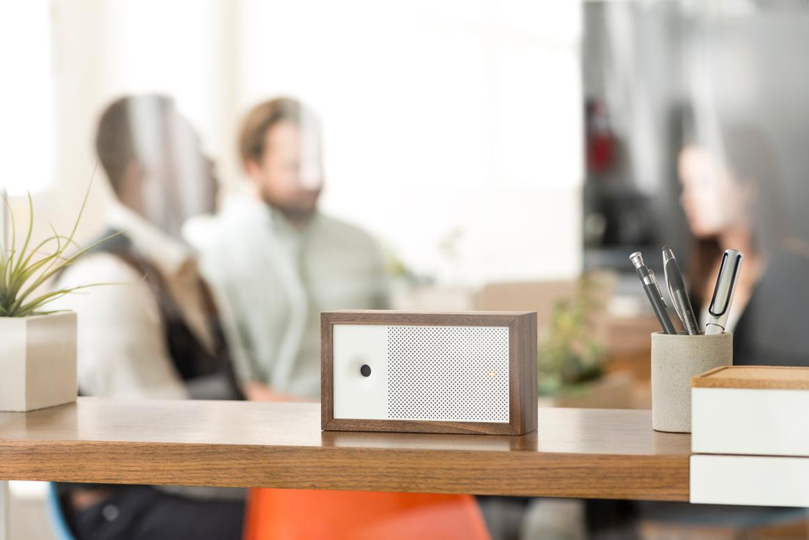 Awair sits inconspicuously in your home, monitoring the quality of the air