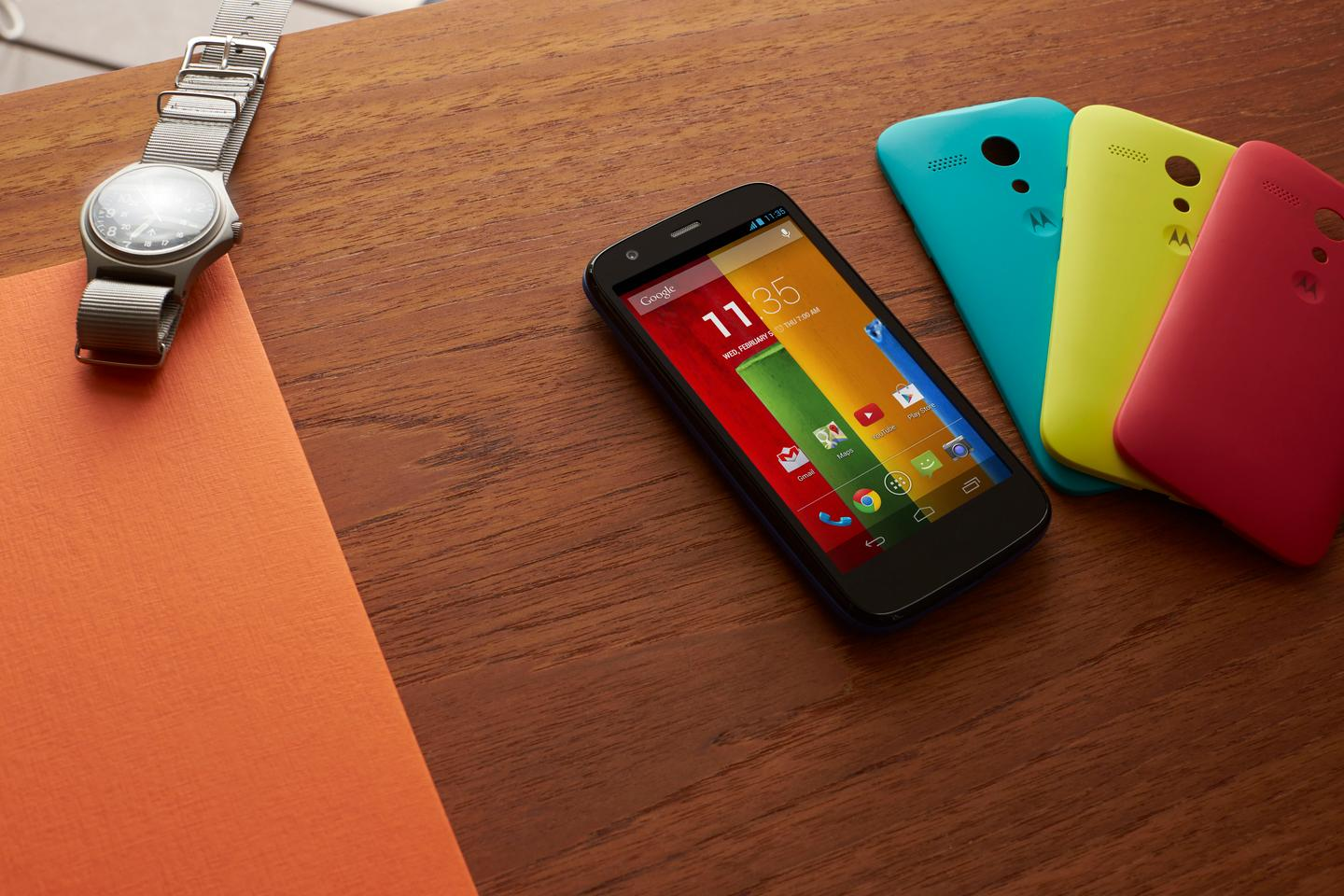 Motorola just announced the Moto G, a solid phone with a rock-bottom price