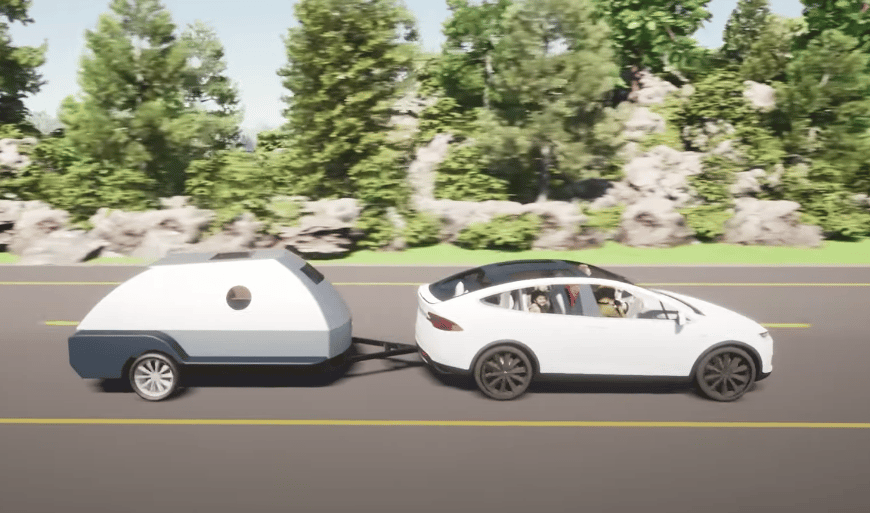 Any trailer will degrade the efficiency of their towing vehicle, but Colorado Teardrops plans their boulder to make up the difference