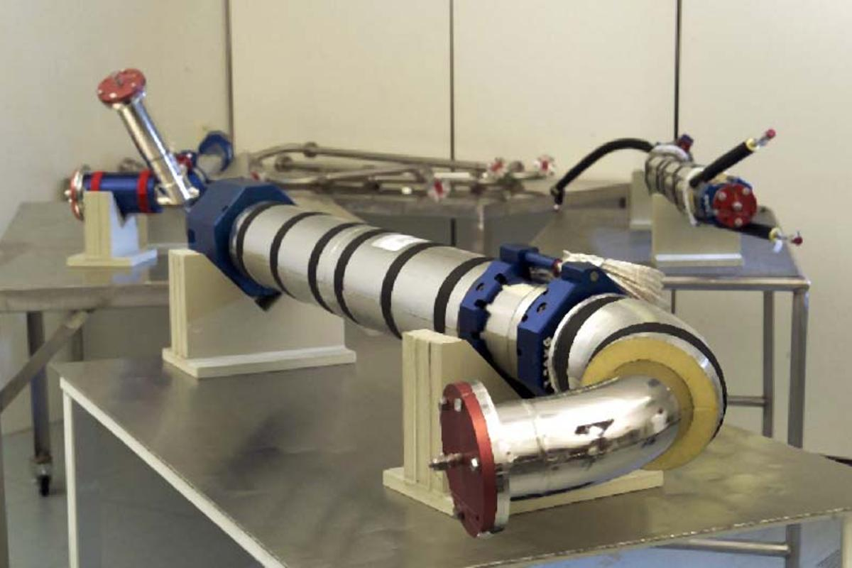 MaganStyer hydrogen fuel handling system (Image: MagnaSteyr Aerospace)