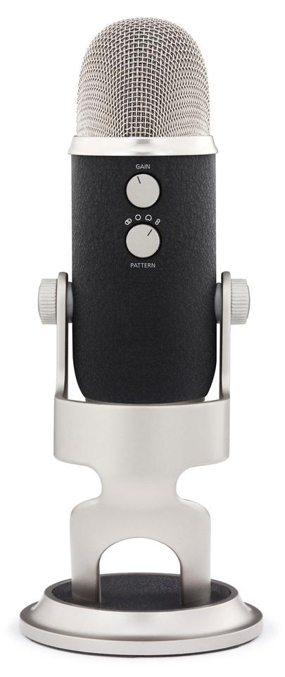 Yeti Pro comes as the first USB microphone to combine 24 bit/192 kHz recording resolution with analog XLR output