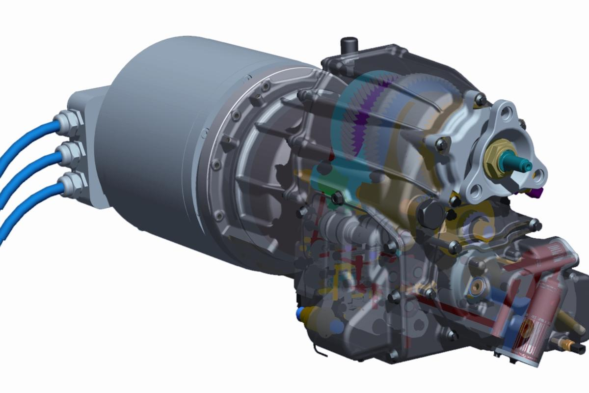 Antonov has developed a 3-speed transmission for electric vehicles from the ground up