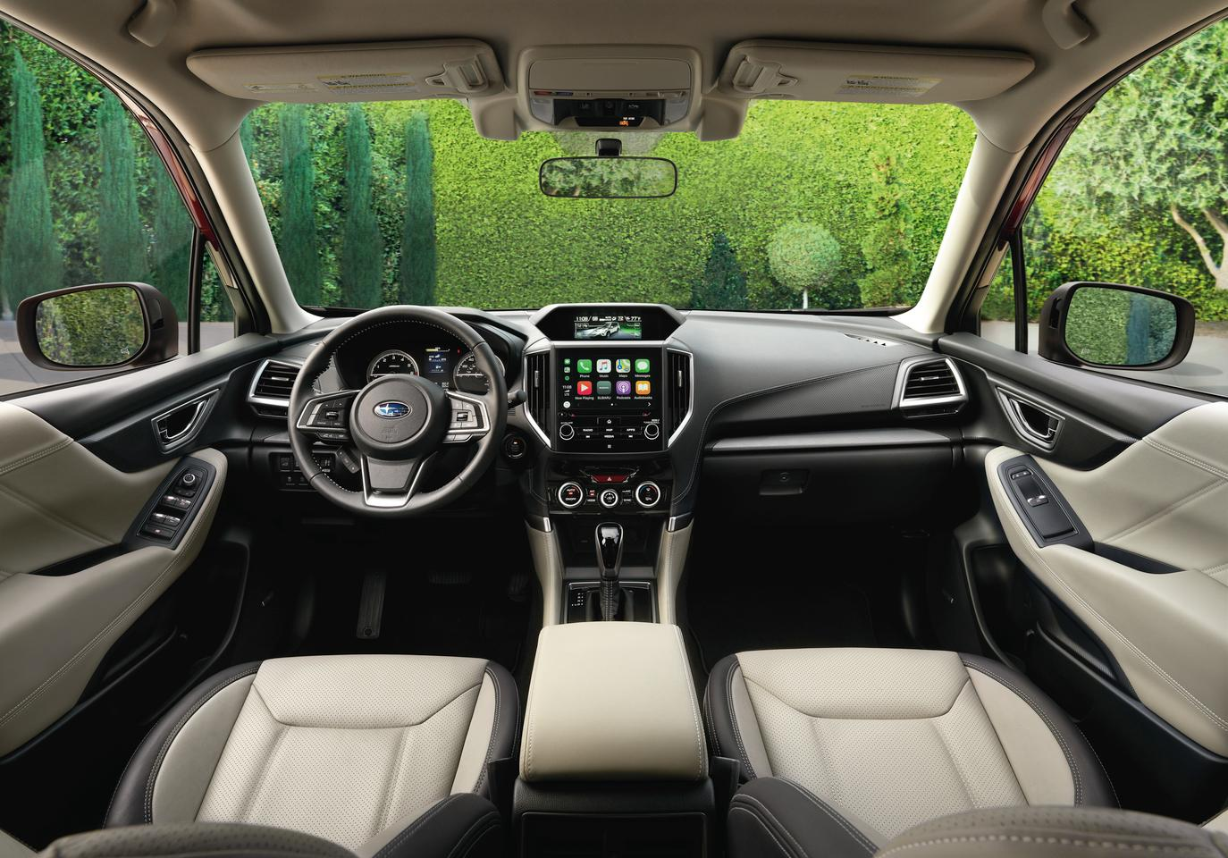 Much of the focus for the new 2019 Subaru Forester is on the inclusion of the company's EyeSight safety and driver convenience system as standard