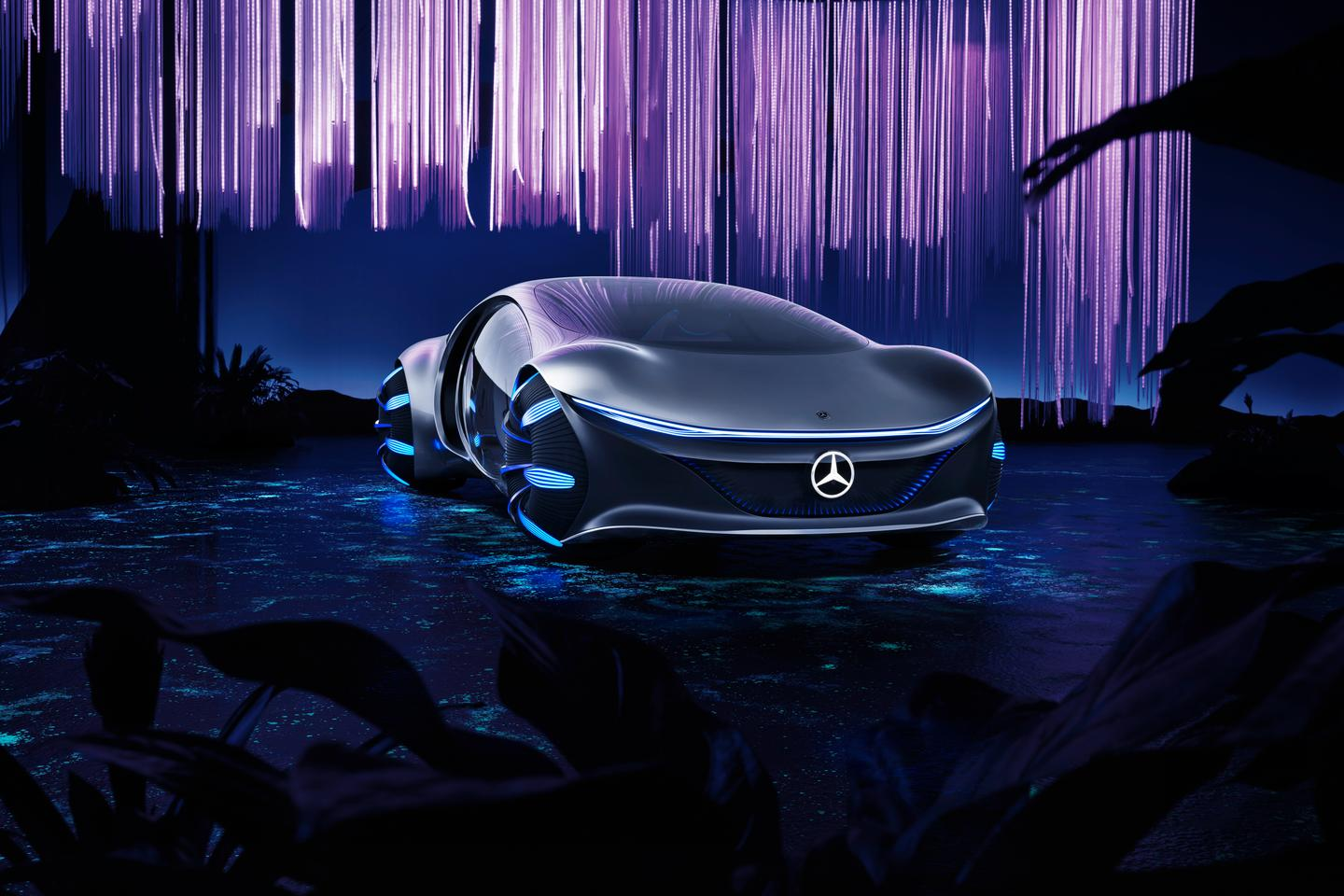 The Mercedes-Benz Vision AVTR concept is aimed towards ultra-futuristic, holistic driving