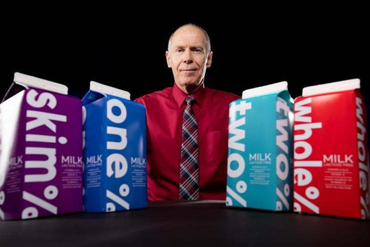 A new study has pointed to a relationship between low-fat milk and a key biological marker for a