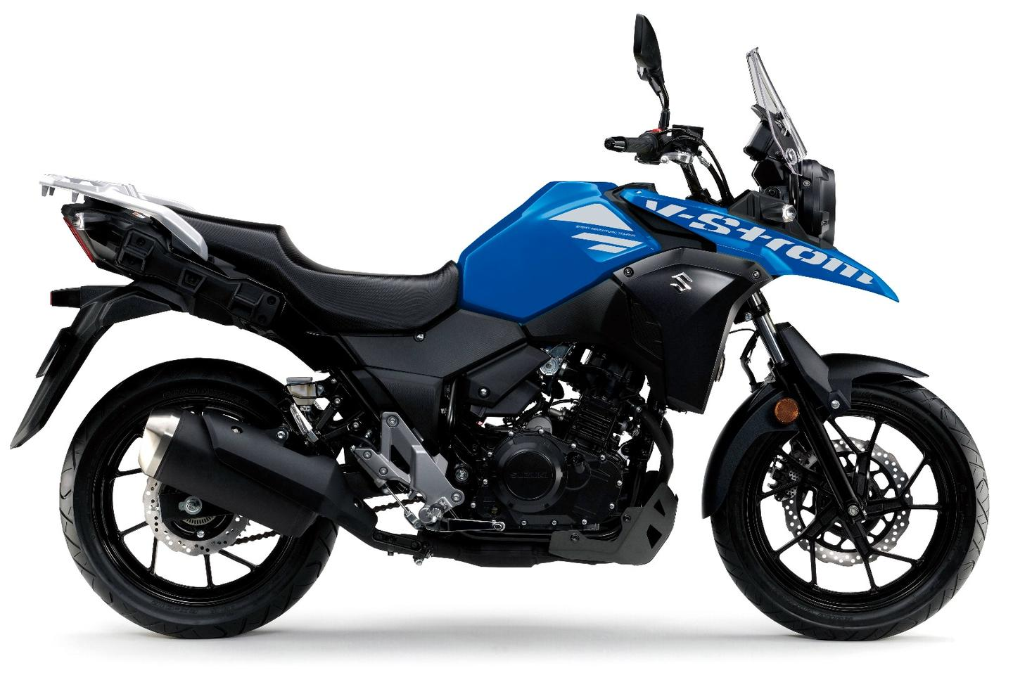 Suzuki V-Strom 250 ABS: long range soft-road touring for the shawties