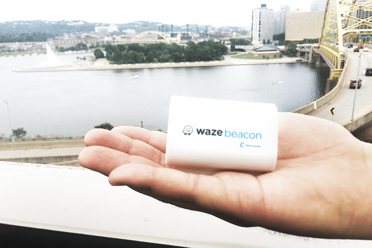 Waze Beacons are battery-poweredwireless transmittersthat can be installed in tunnels to send navigation signals directly to a smartphone or tablet via Bluetooth when GPS satellitesignals are unavailable