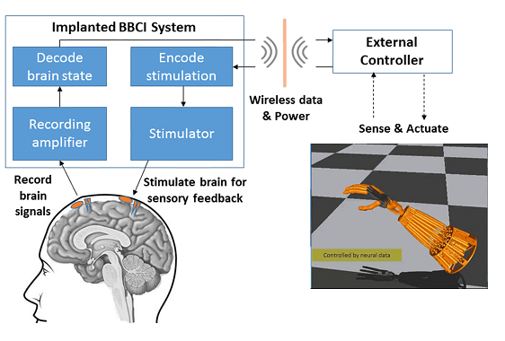 Diagram of the University of Washington neuro-sensation system
