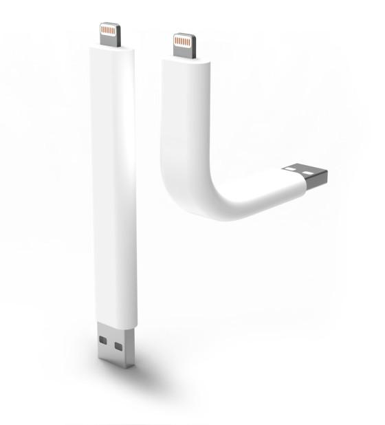 Trunk, by ILoveHandles, is an iPhone charging cable that can also be used as a stand