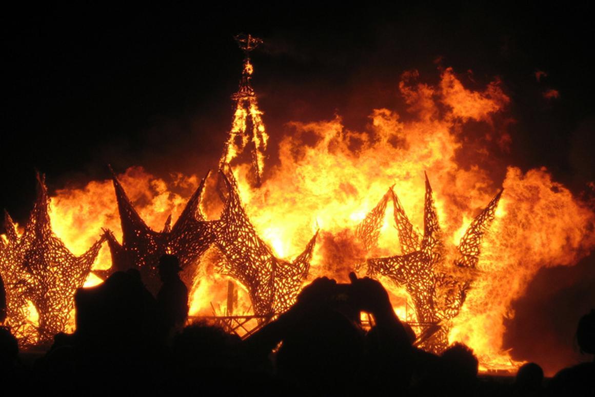Burning Man 2009 (Image: JahFae)