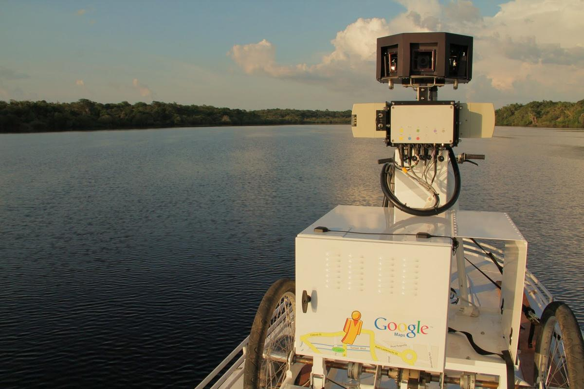 Google's Street View trike is heading to the Amazon River to document 360 degree panoramic images of some our world's most remote and richly biodiverse regions