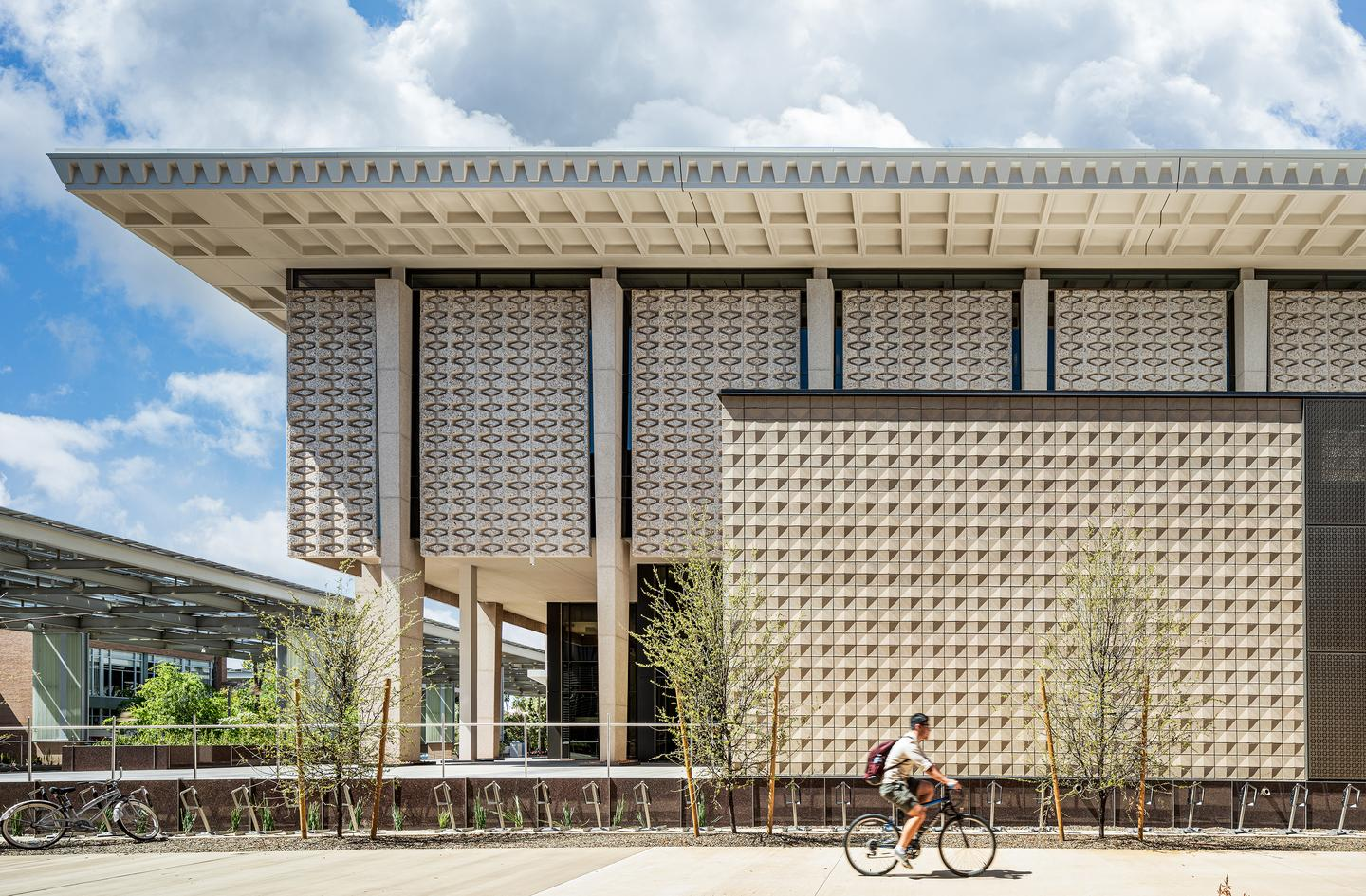 Arizona State University Hayden Library Reinvention was designed by Ayers Saint Gross and is located in Tempe, Arizona