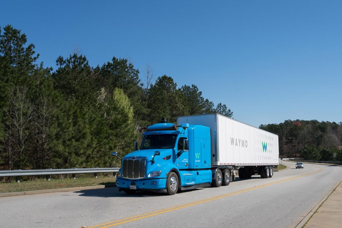Waymo's self-driving trucks are ready to haul cargo to Google's data centers in Atlanta, Georgia