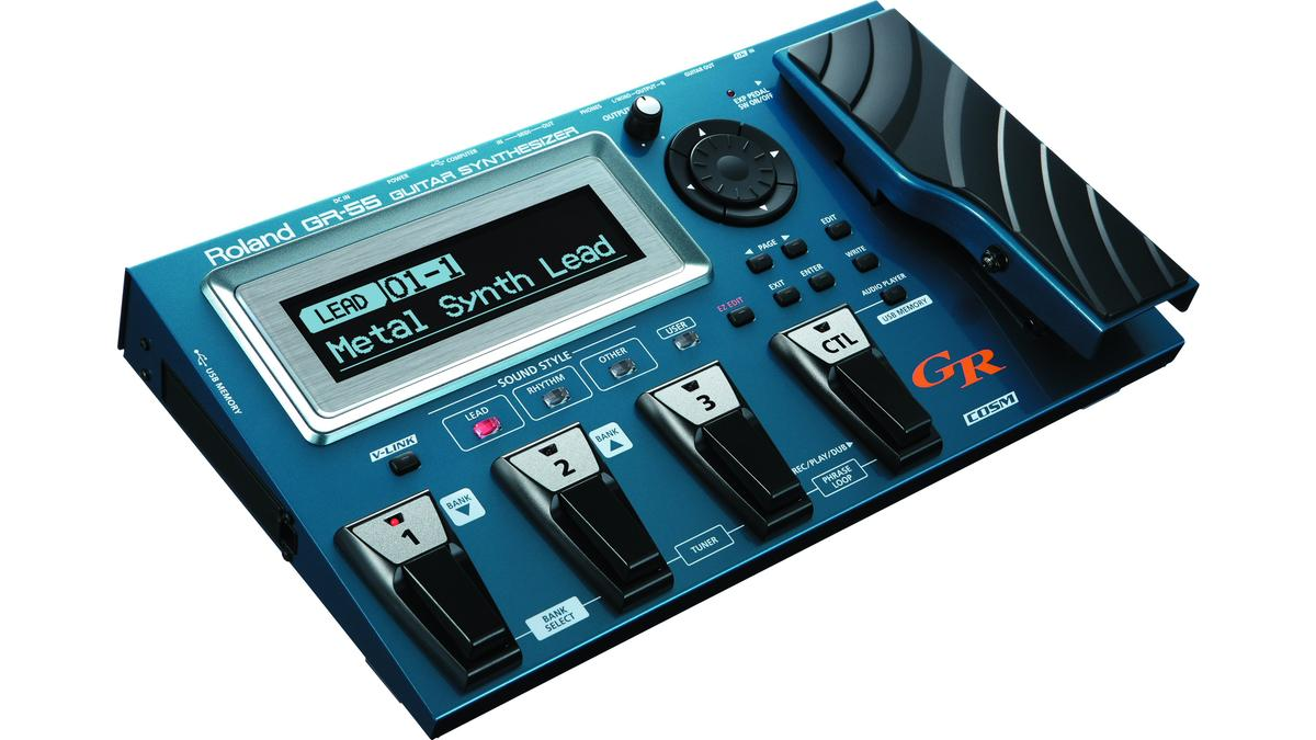 Roland has announced the latest evolutionary leap in the world of guitar synth technology: the GR-55 guitar synthesizer