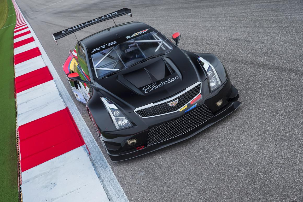 "Cadillac is hoping for the GT3-specced ATS-V.R to act as a ""170 mph billboard"" for the brand"