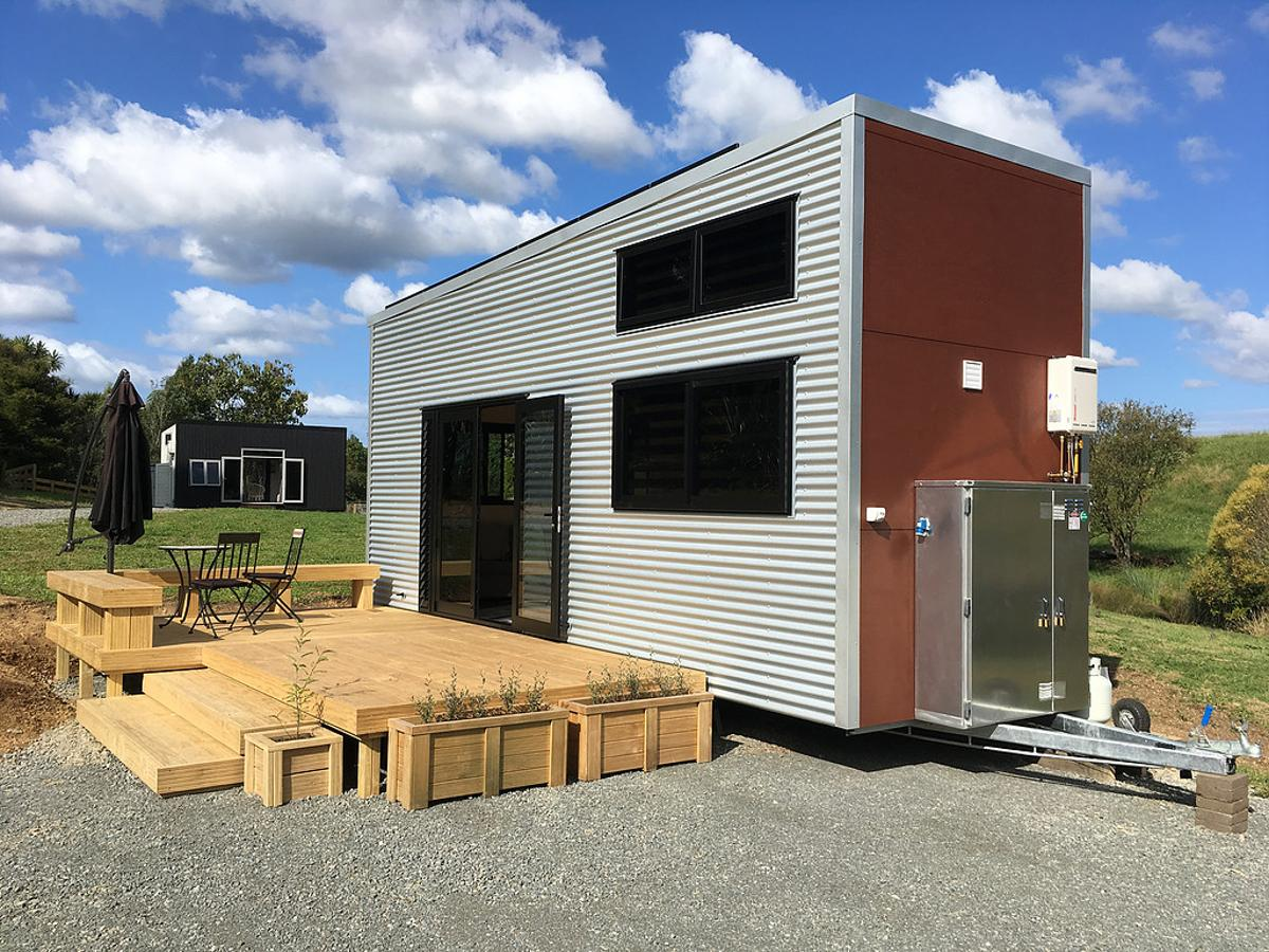 The Boomer can be purchased as a shell or a turnkey home ready to move in
