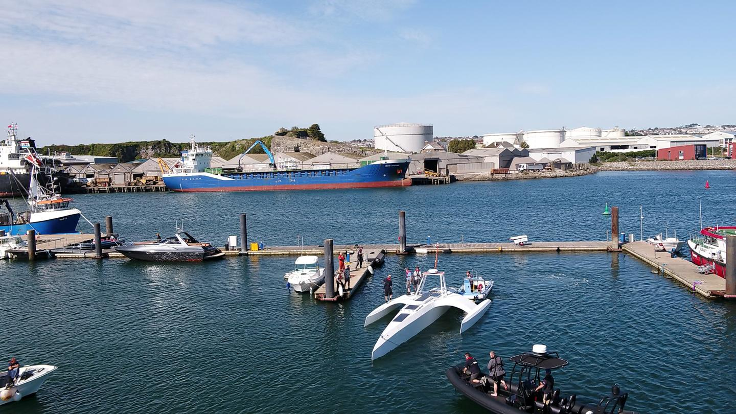 The Mayflower Autonomous Ship's mission is to gather data on the state of the oceans