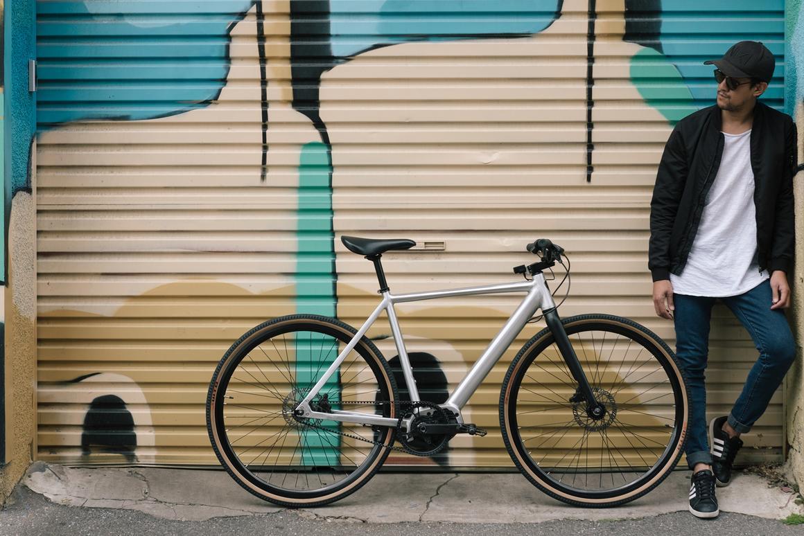 At first glance, the Miller e-bike looks like a standard city bike