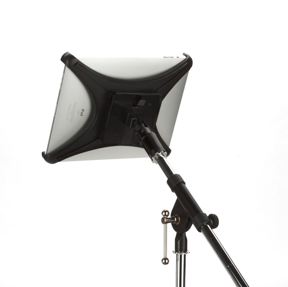 The Griffin Mic Stand Mount for iPad