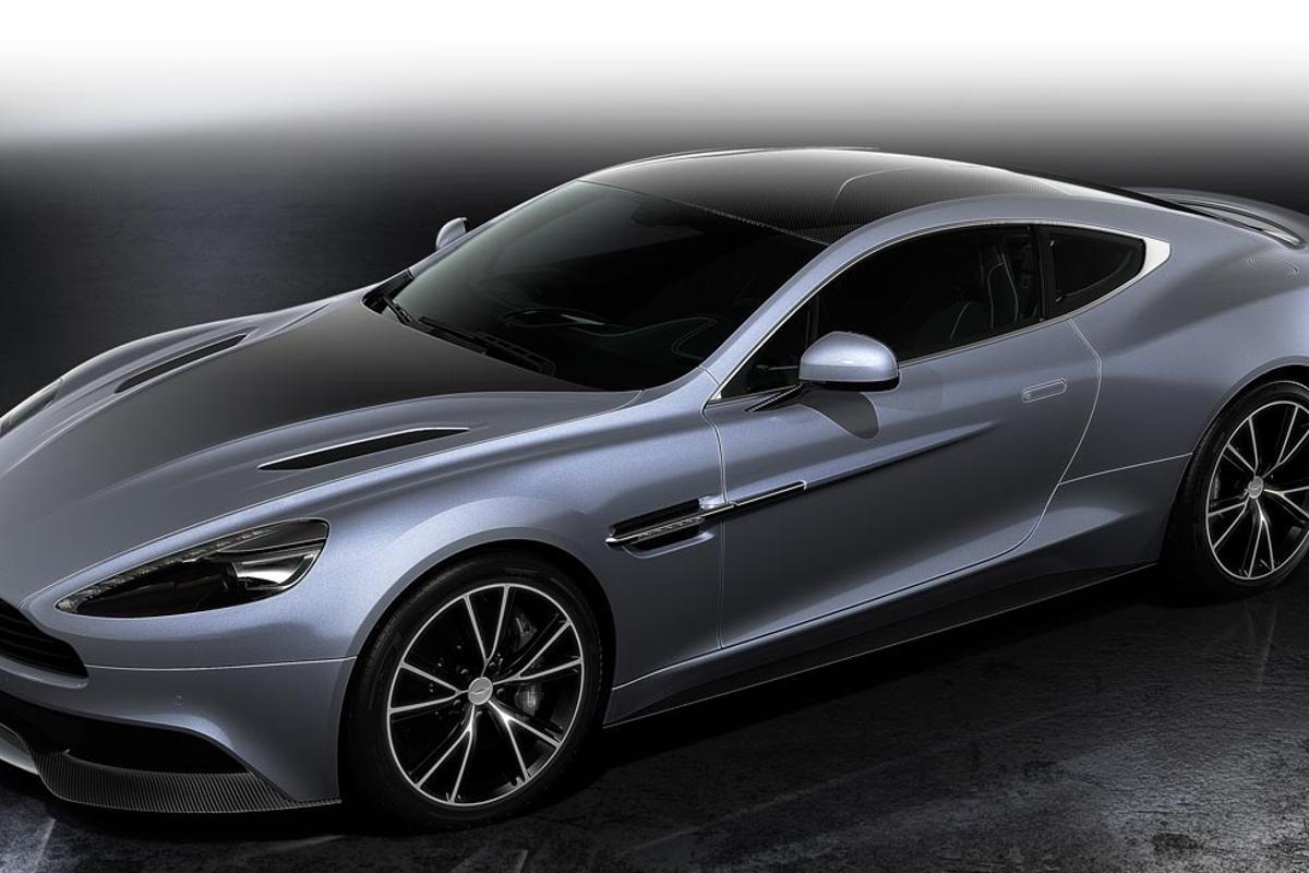 The Aston Martin Vanquish Centenary Edition