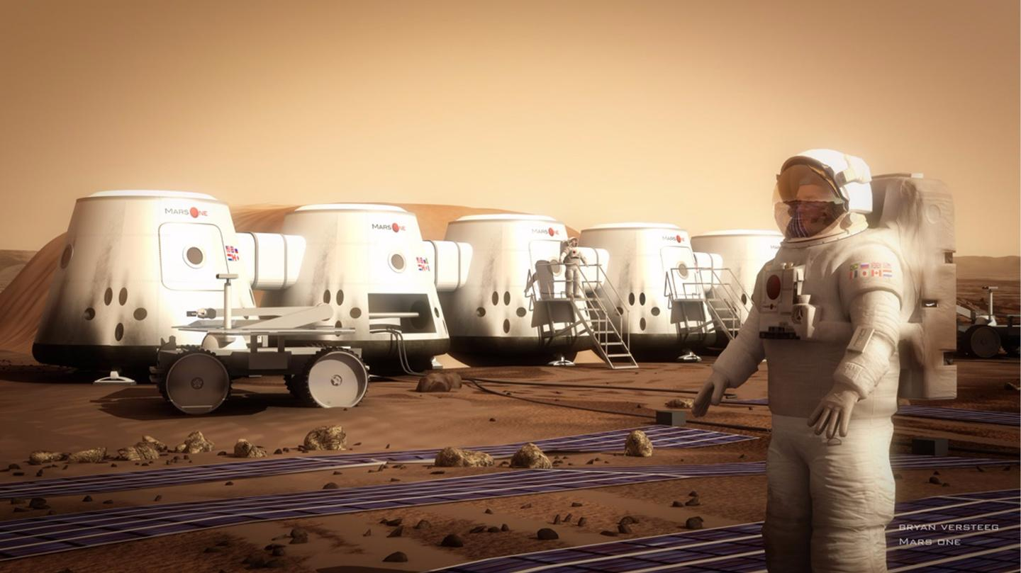 Mars One plans to send colonists to the Red Planet around the year 2025