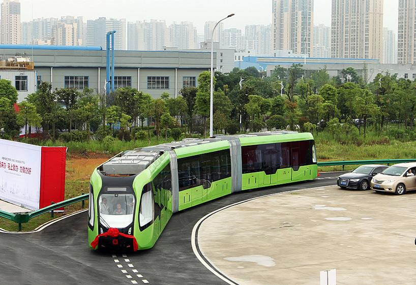 The vehicle was unveiled in the city of Zhuzhou on June 2nd