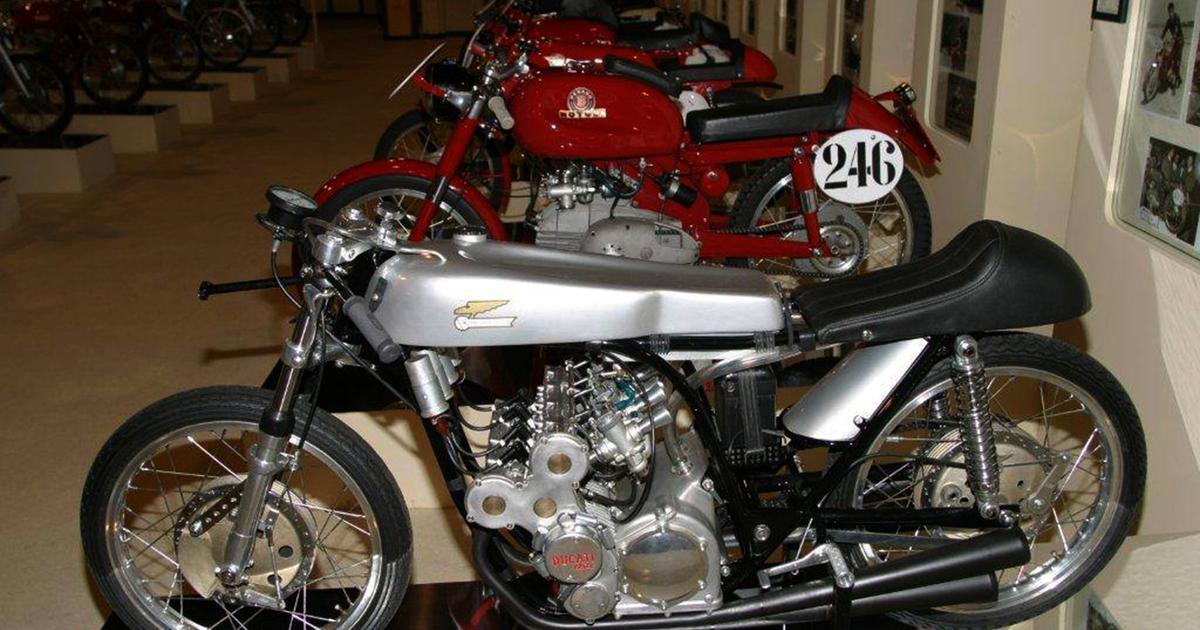 "Ducati four-cylinder Grand Prix ""unicorn"" heads Bonham's museum sale"