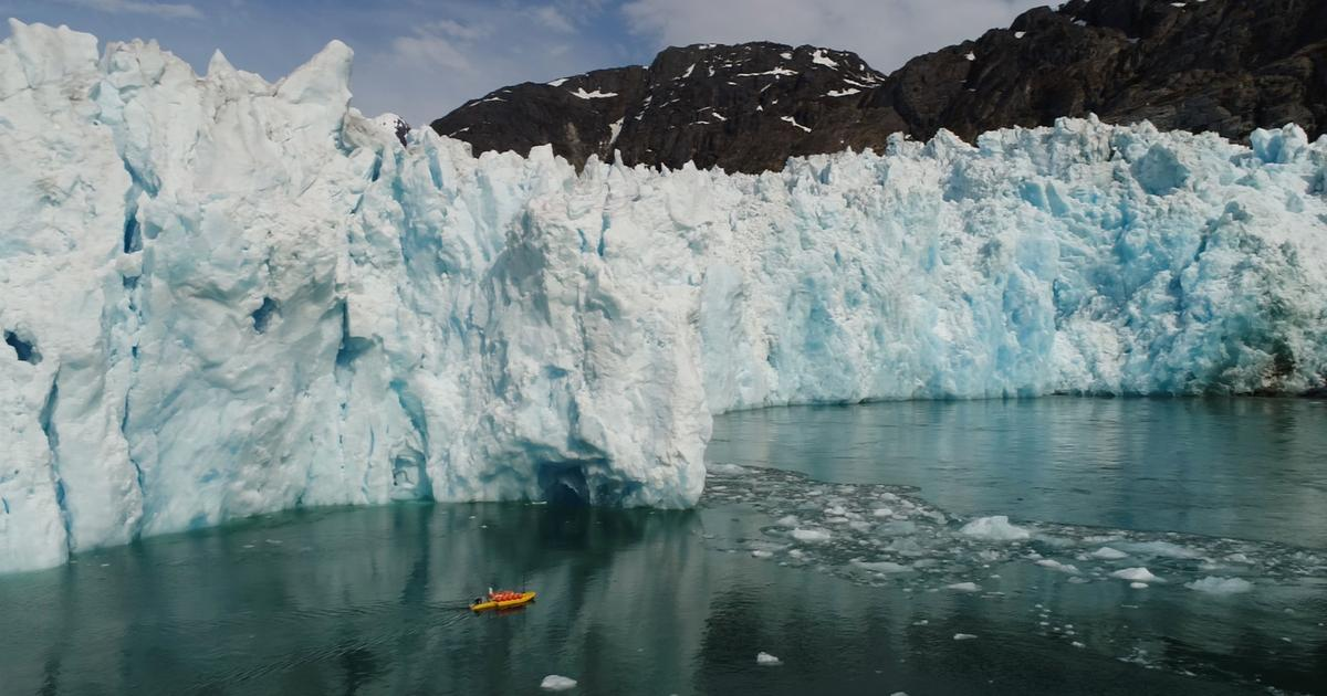 Robotic kayaks reveal glaciers are melting much faster underwater