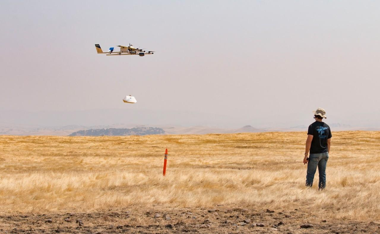 This will be the first time Project Wing has used its drones to deliver items to external users in the US