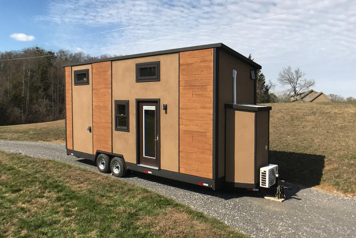 Transcend Tiny Homes says that testing by a global facility have proven the Amsterdam 24 capable of withstanding winds of up to 156 mph
