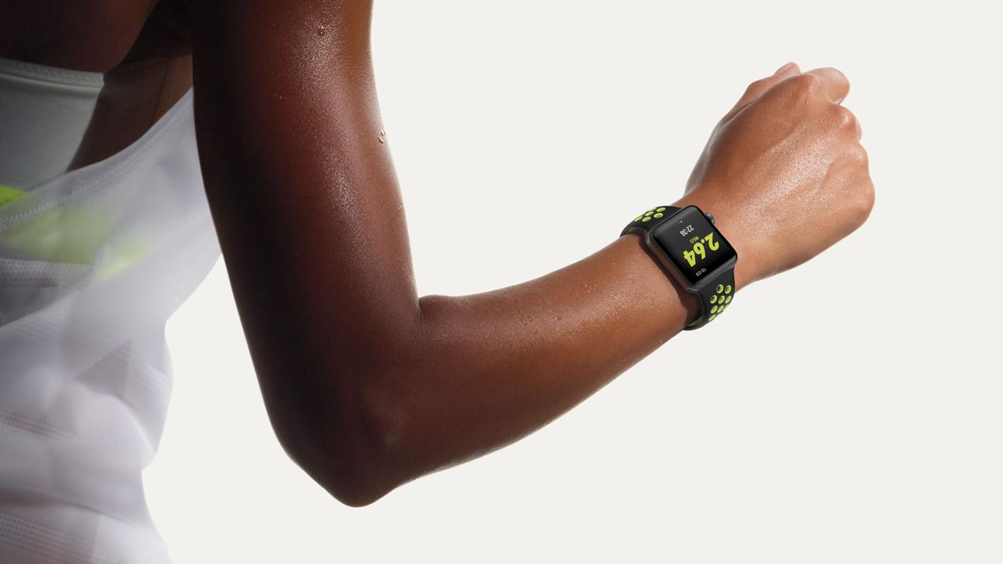 Apple WatchNike + edition is anApple Watch Series 2 outfittedwith runners in mind