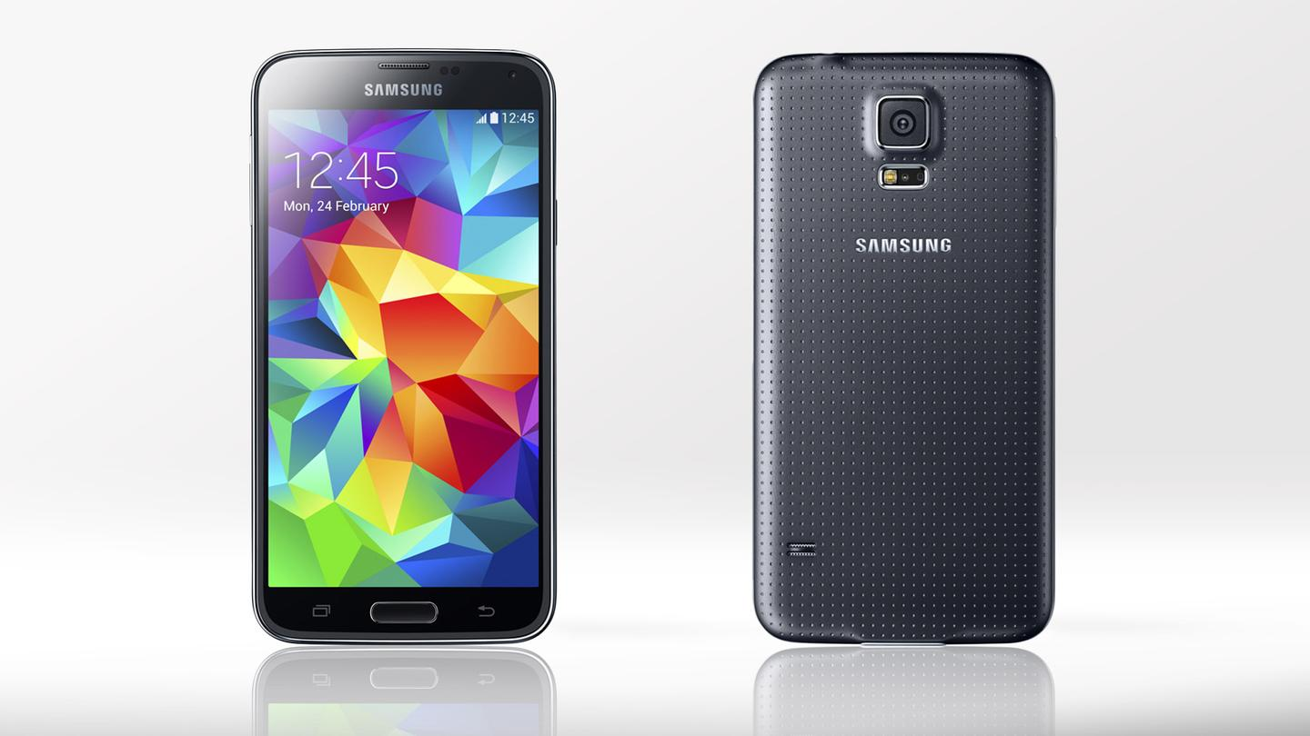 Samsung just made the Galaxy S5 official