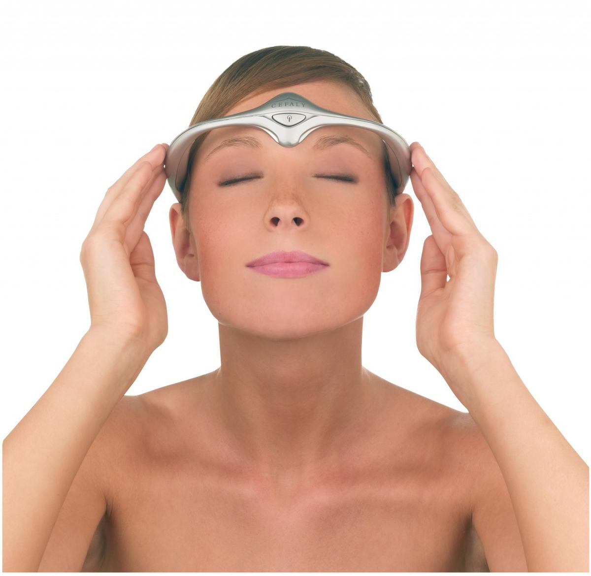 The Cefaly headband is claimed to not only treat migraines, but help to reduce their frequency through regular use