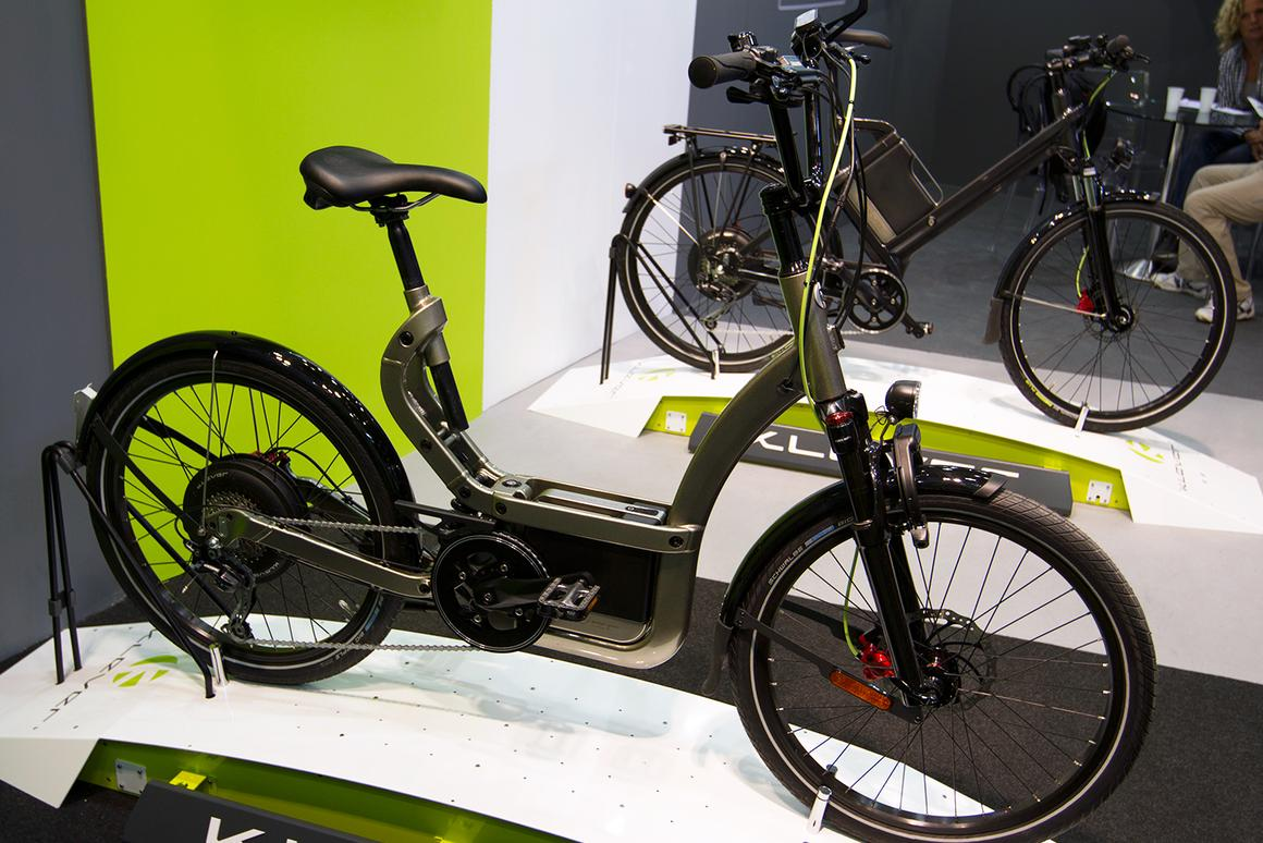The B25 from Klever Mobility took out an e-bike/pedelec award at Eurobike 2013