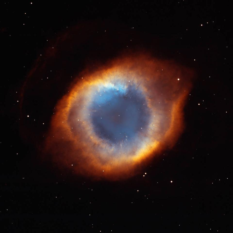 The Helix Nebula – one of the closest planetary nebulae to Earth