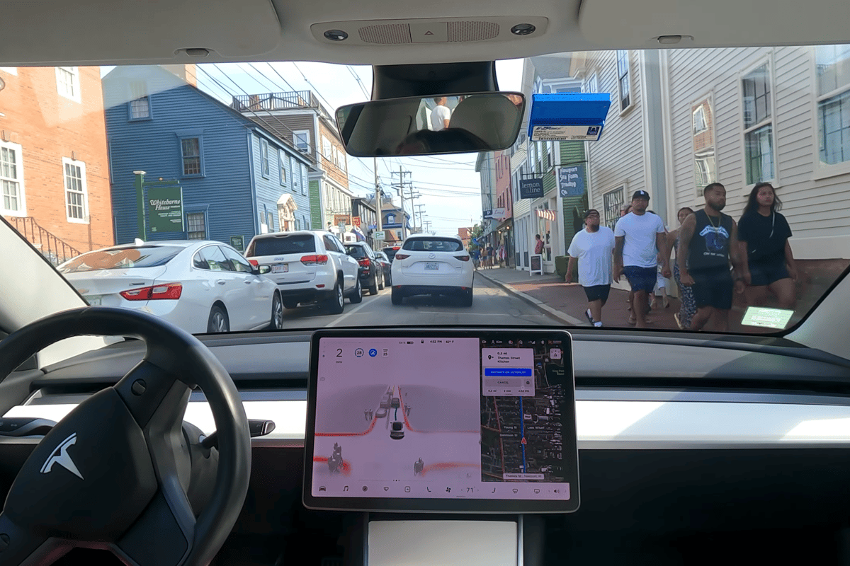 Tesla has released the much-hyped V9.0 of its Full Self Driving software to a small group of advance testers
